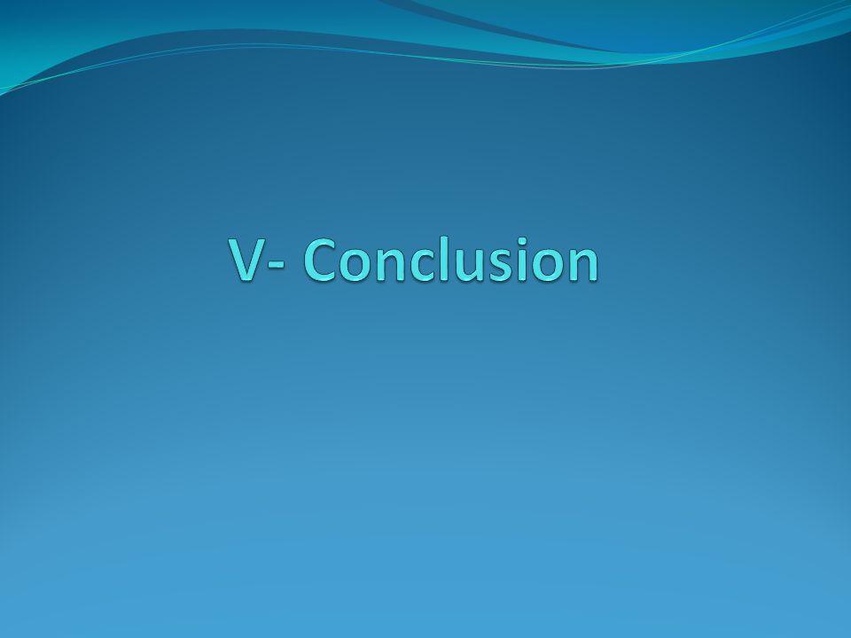 V- Conclusion