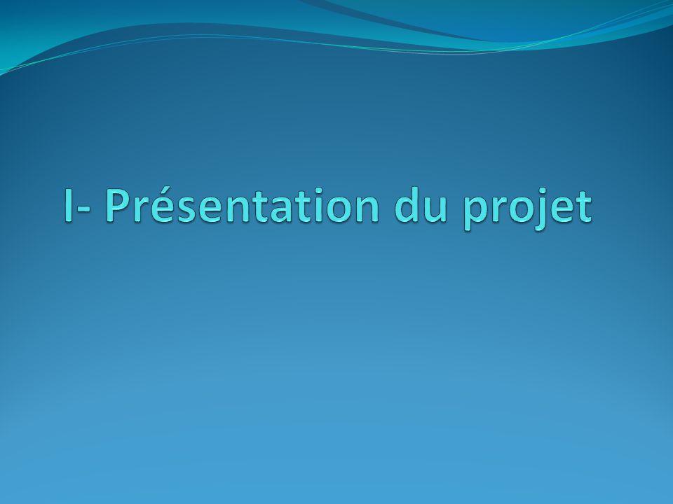 I- Présentation du projet