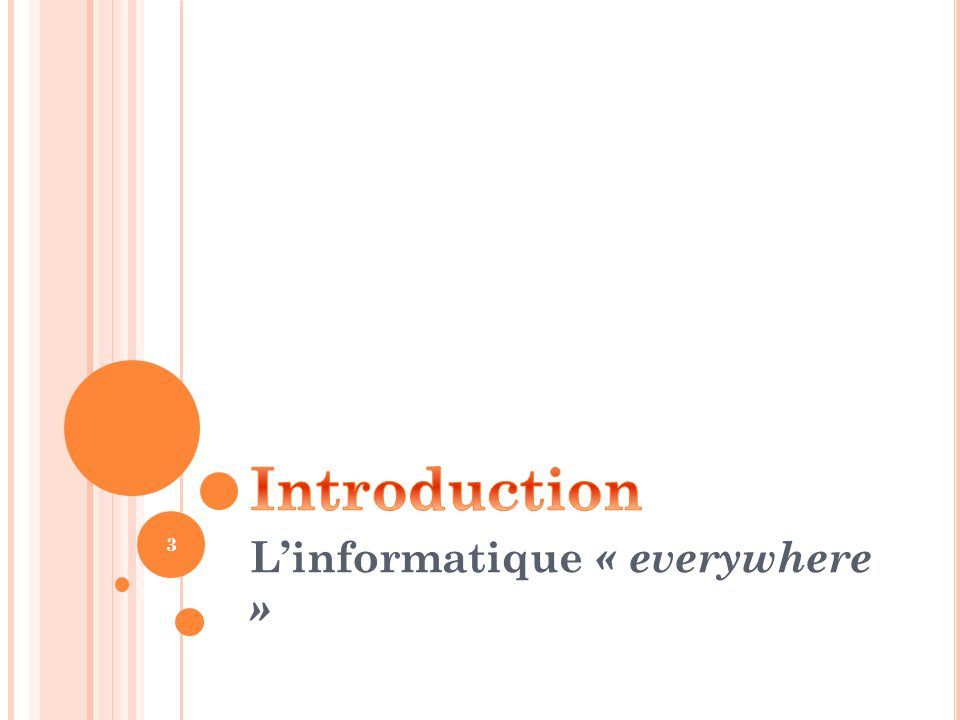 L'informatique « everywhere »