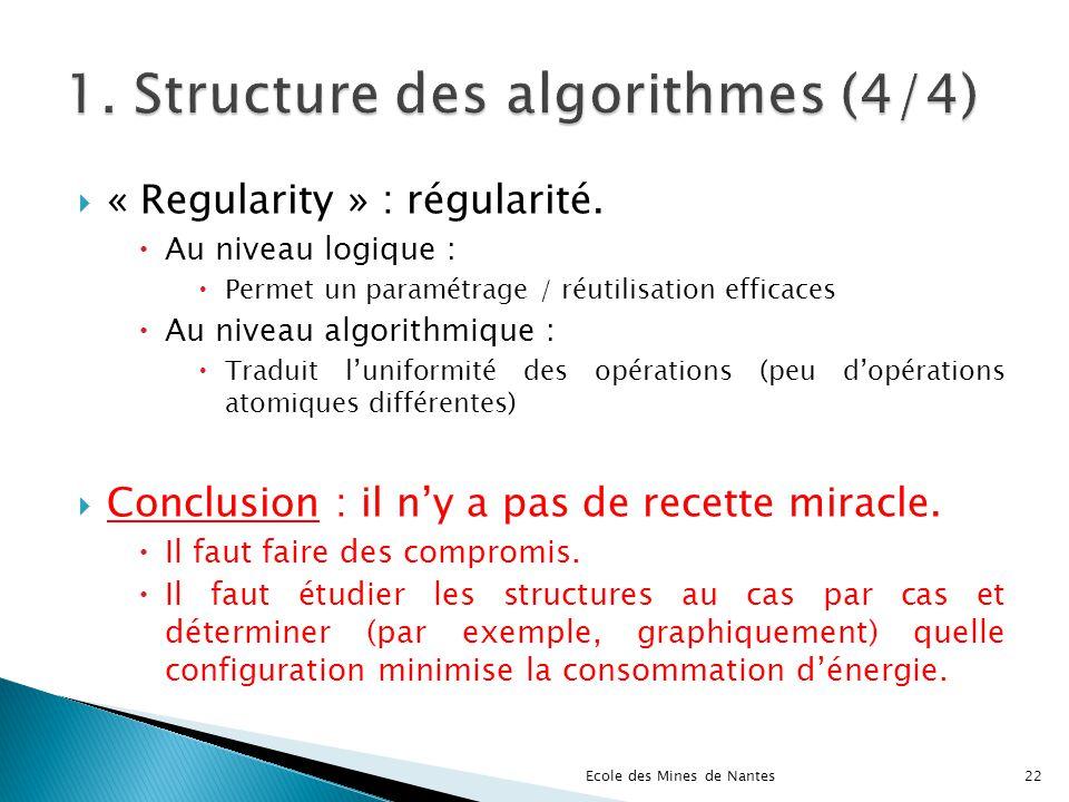 1. Structure des algorithmes (4/4)