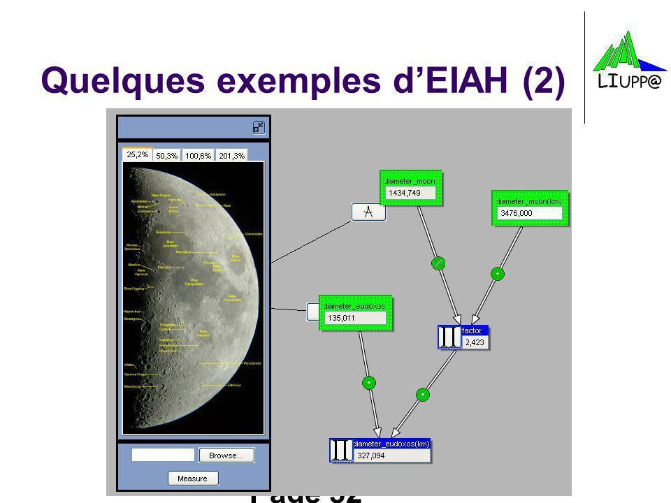 Quelques exemples d'EIAH (2)