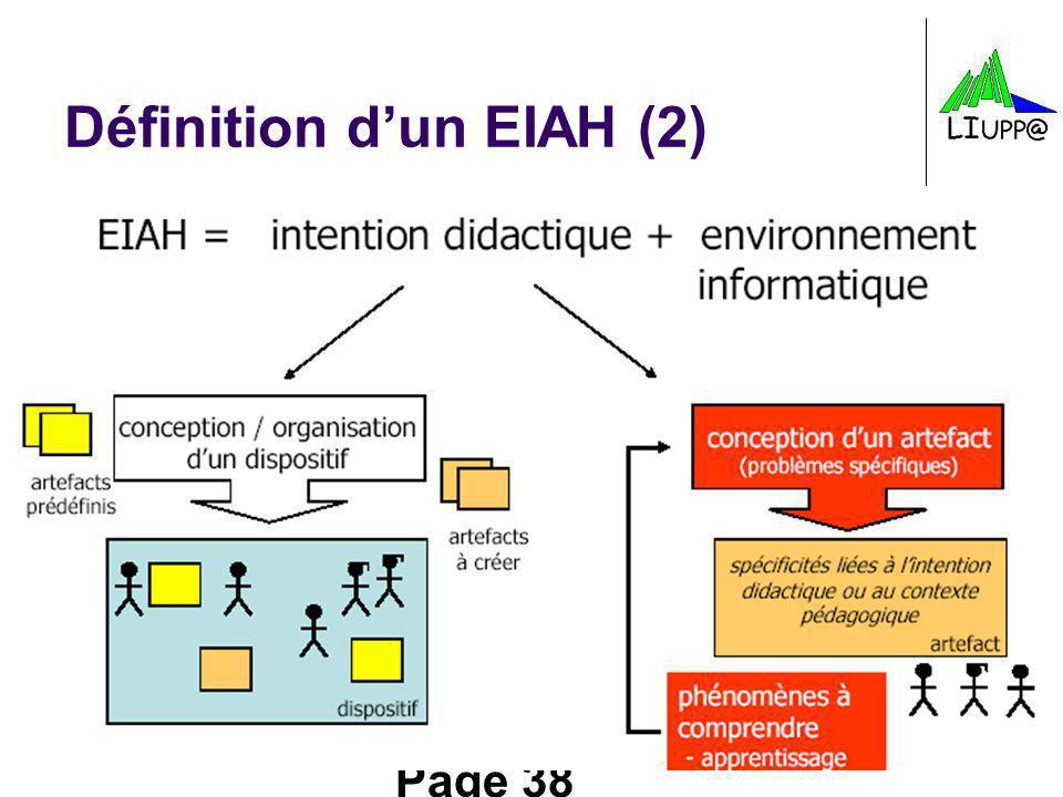 Définition d'un EIAH (2)