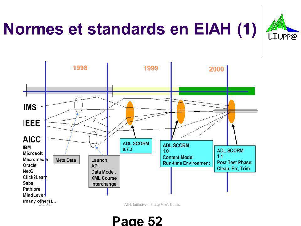 Normes et standards en EIAH (1)