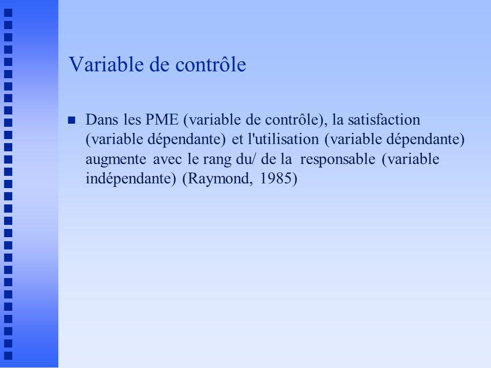 Variable de contrôle