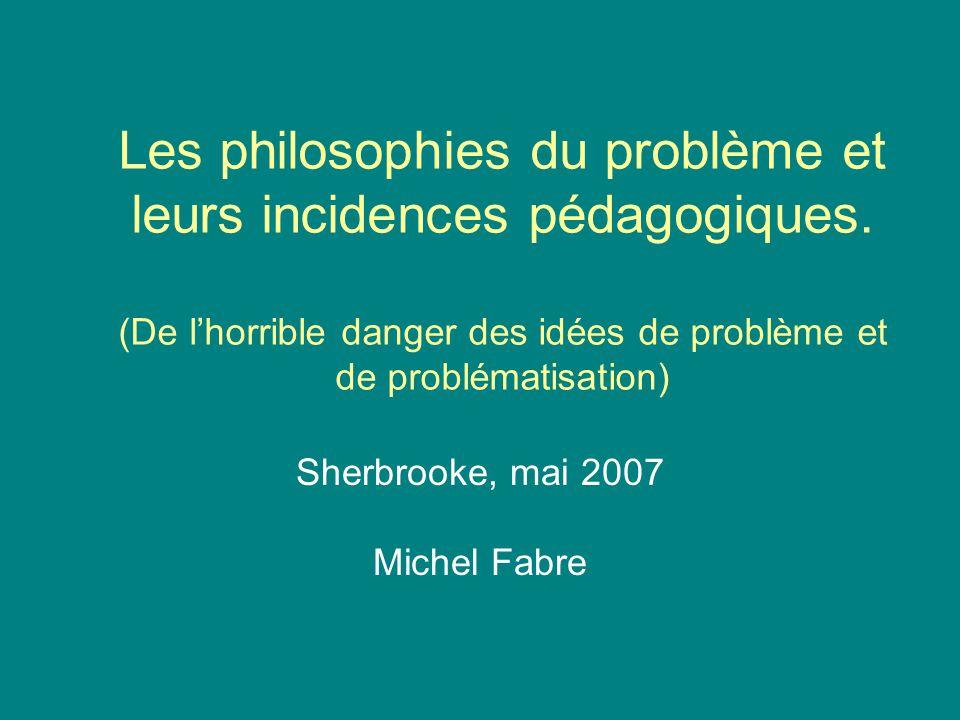 Sherbrooke, mai 2007 Michel Fabre