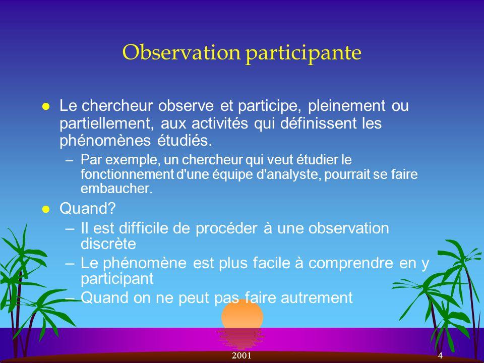 Observation participante