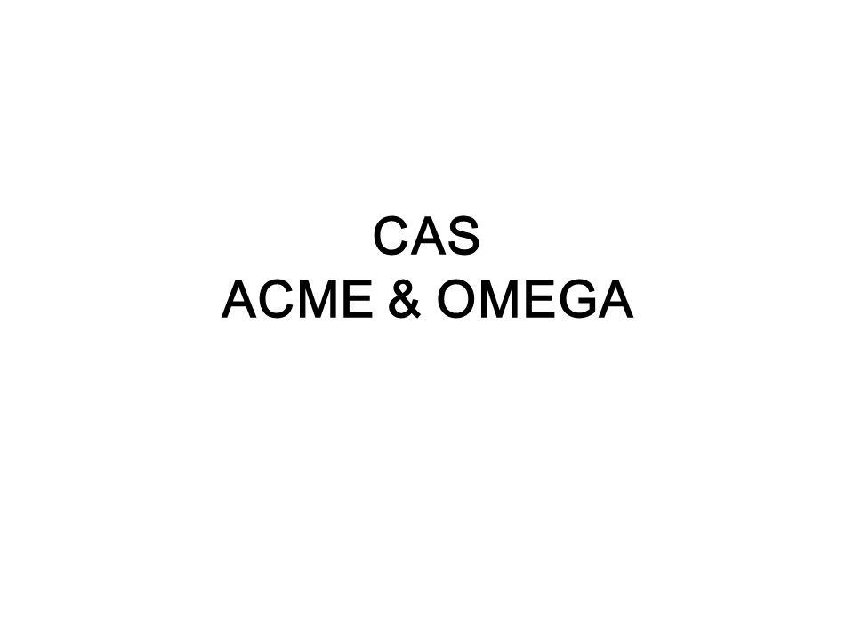 CAS ACME & OMEGA