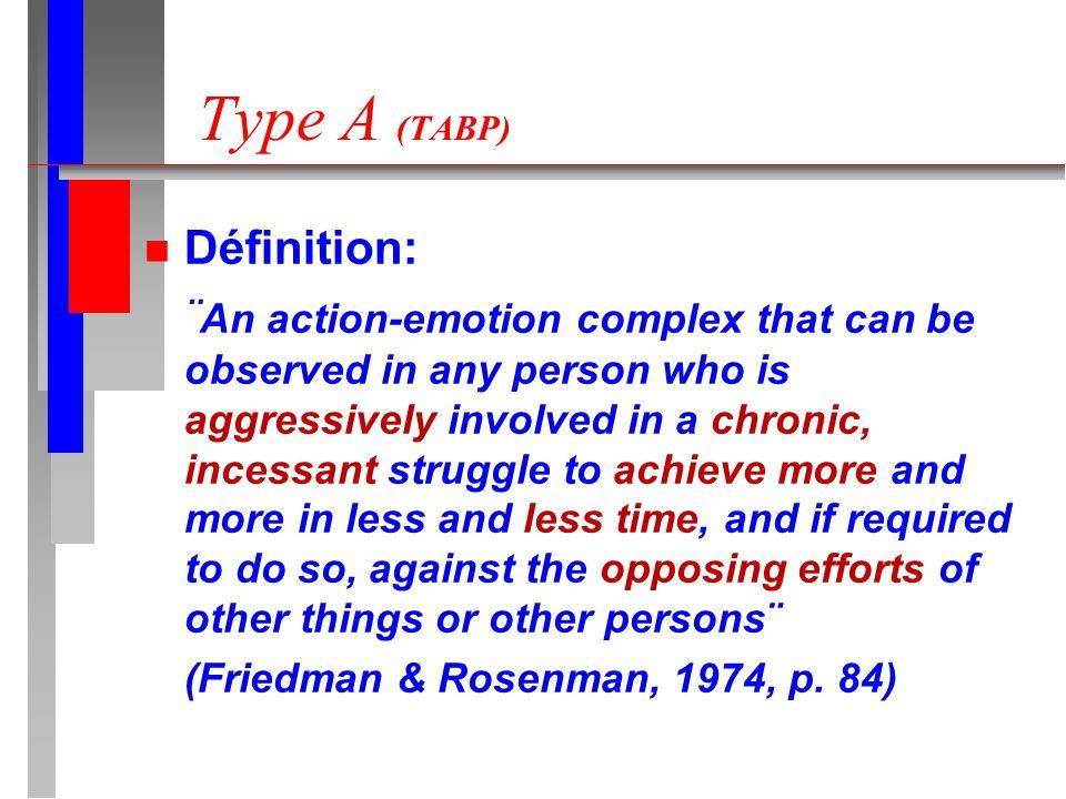 Type A (TABP) Définition: