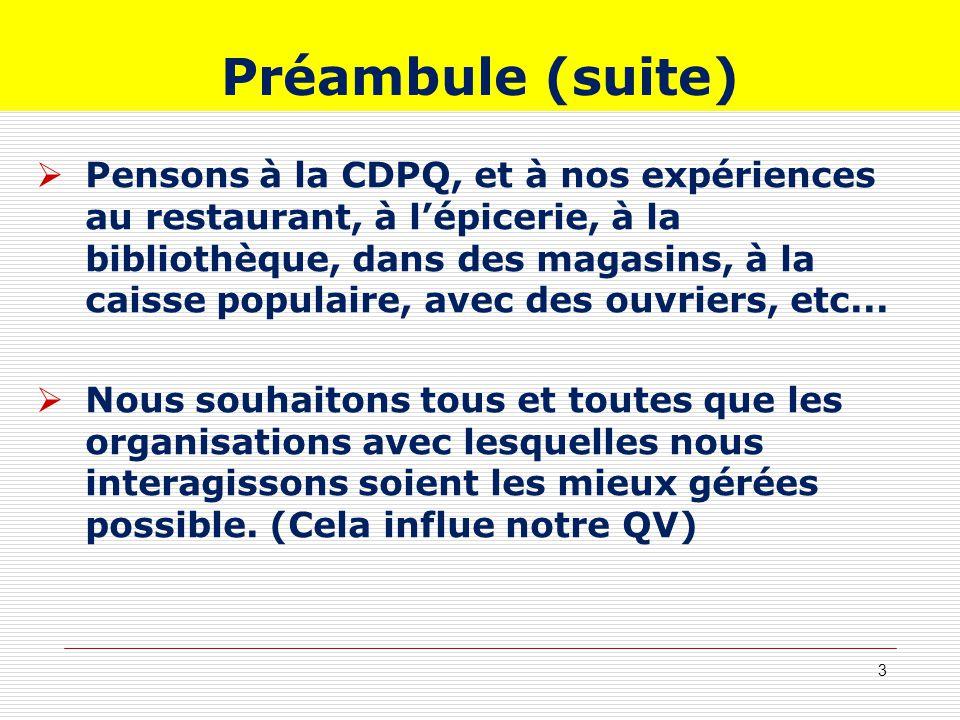 Préambule (suite)