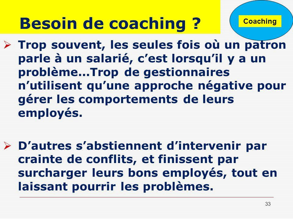 Besoin de coaching Coaching.