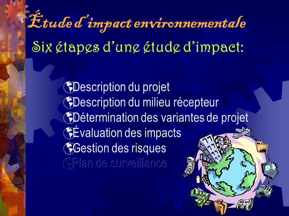 Étude d'impact environnementale