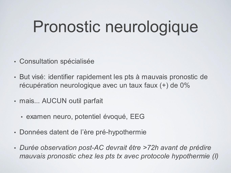 Pronostic neurologique