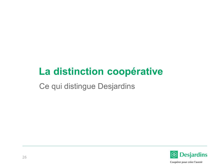 La distinction coopérative