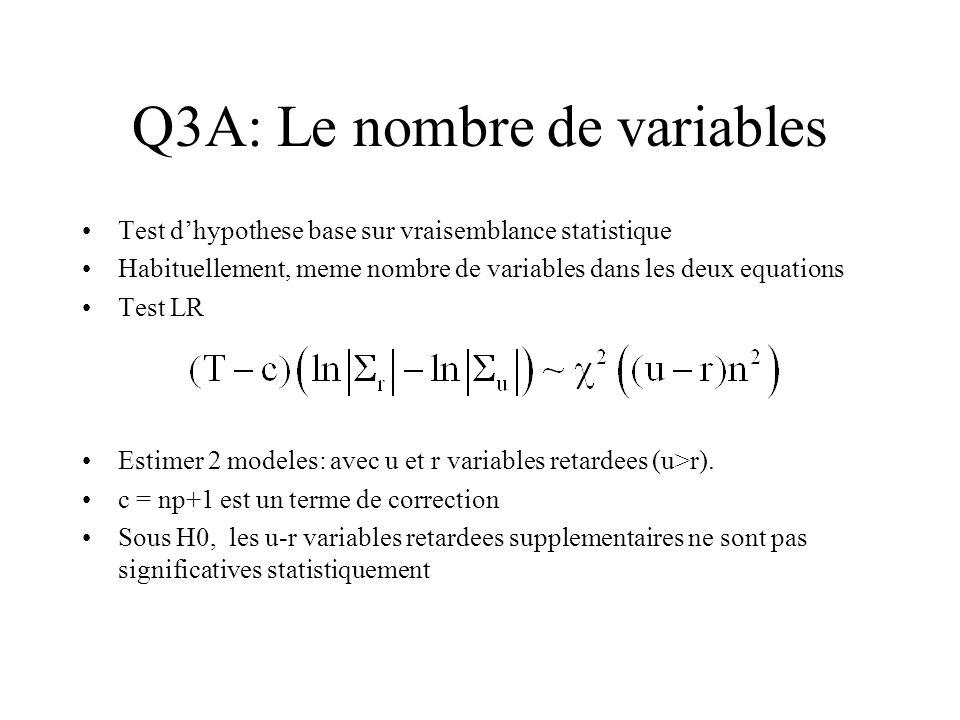 Q3A: Le nombre de variables