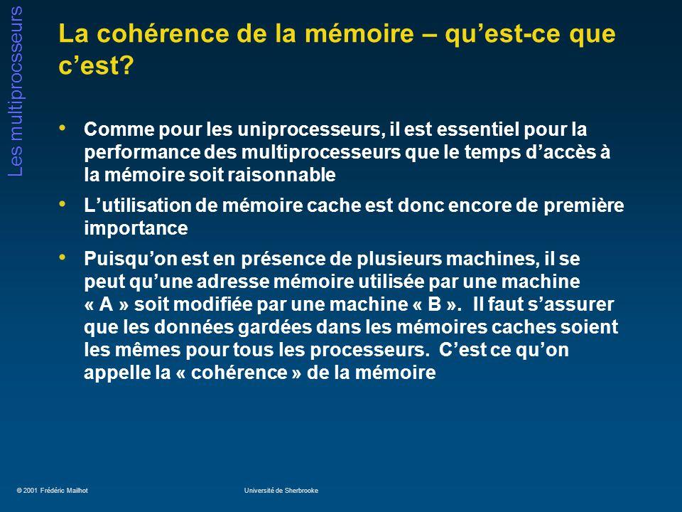 La cohérence de la mémoire – qu'est-ce que c'est