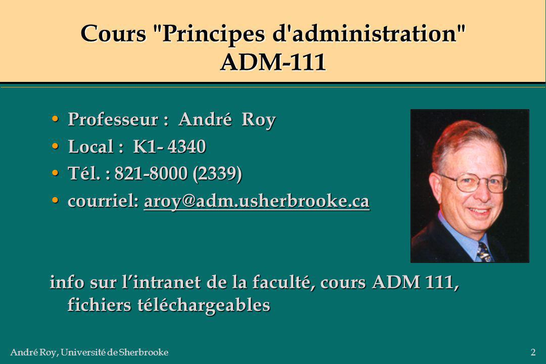 Cours Principes d administration ADM-111