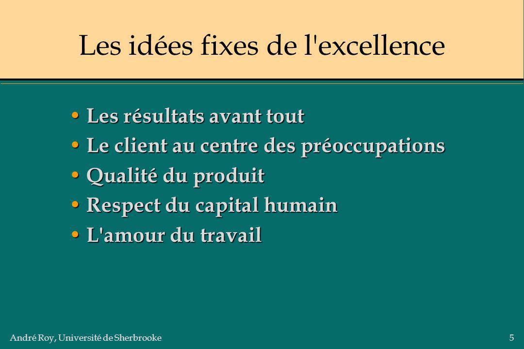 Les idées fixes de l excellence