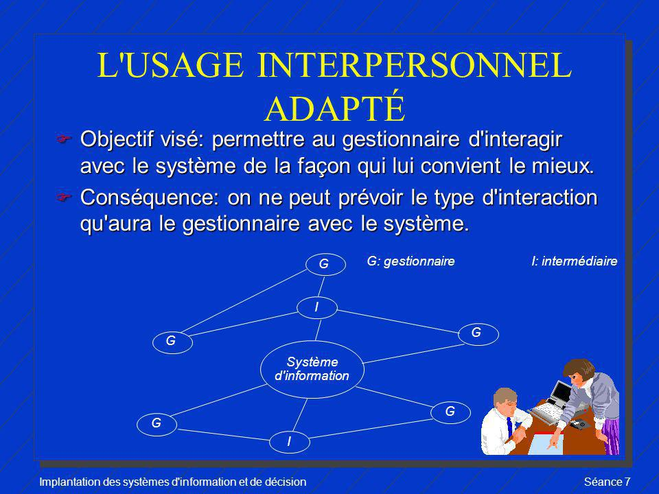 L USAGE INTERPERSONNEL ADAPTÉ