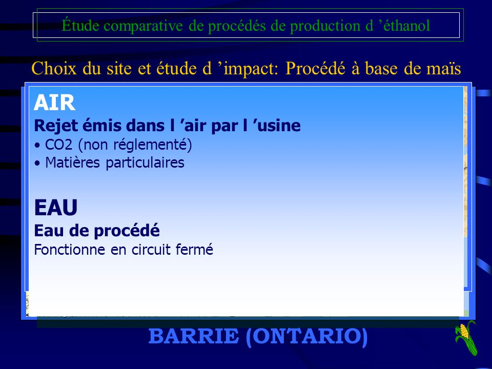 AIR EAU BARRIE (ONTARIO)
