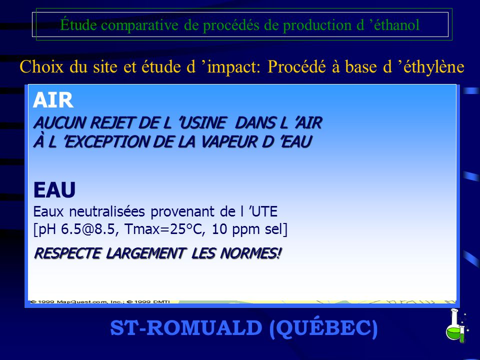 AIR EAU ST-ROMUALD (QUÉBEC)