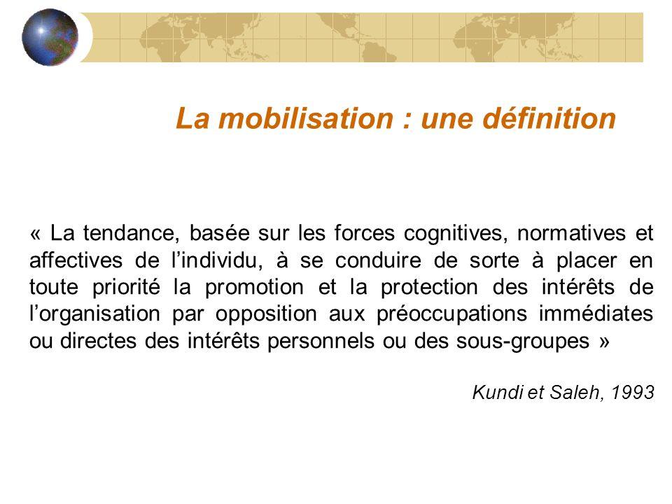 La mobilisation : une définition