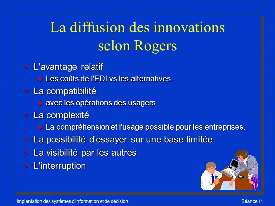 La diffusion des innovations selon Rogers