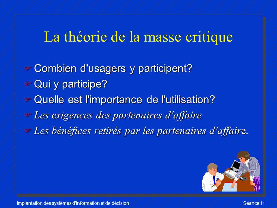 La théorie de la masse critique