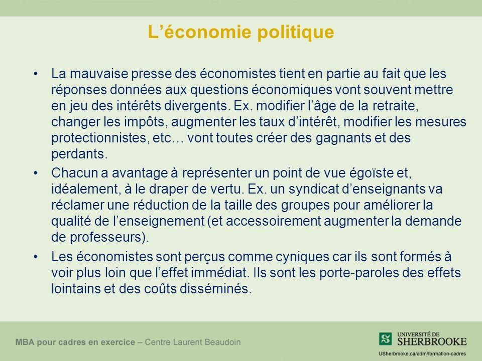 L'économie politique