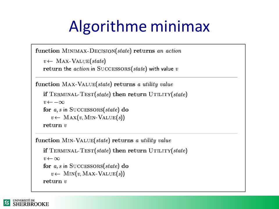 Algorithme minimax