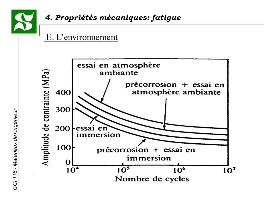 E. L'environnement