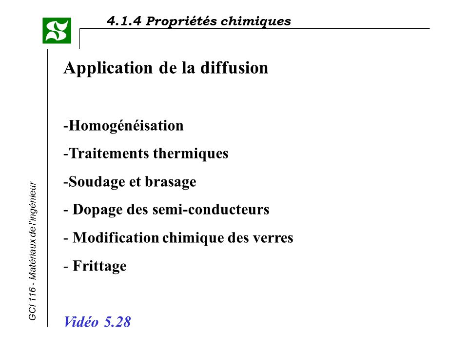 Application de la diffusion