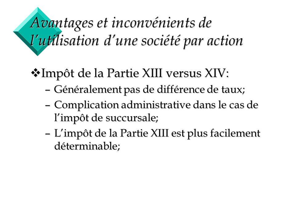 Avantages et inconvénients de l'utilisation d'une société par action