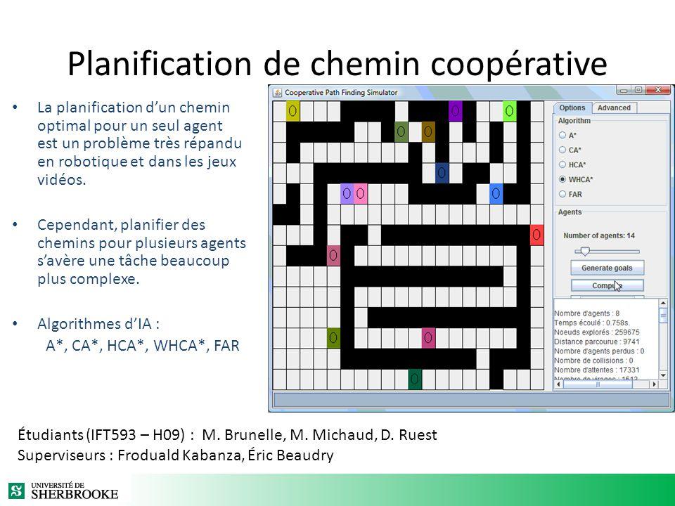 Planification de chemin coopérative