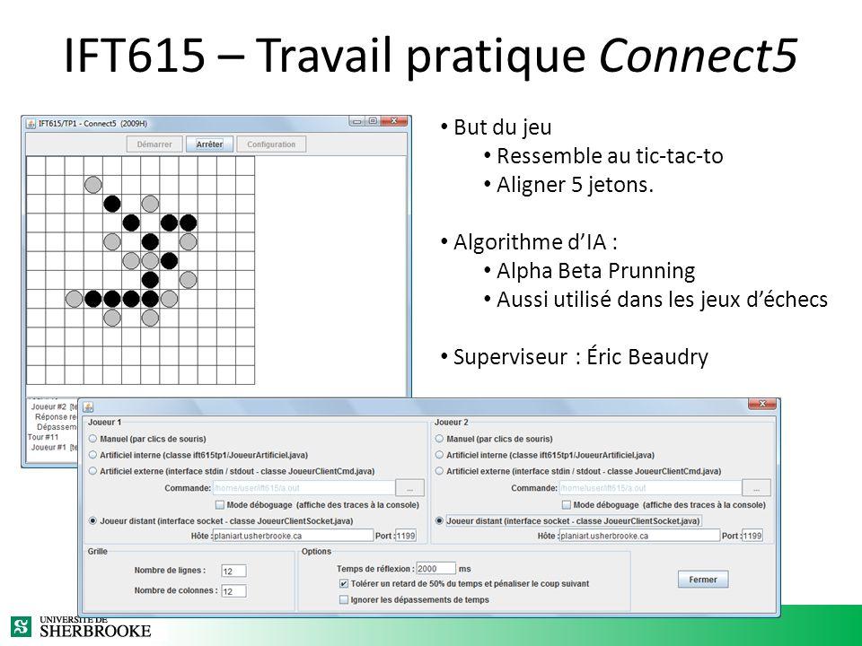 IFT615 – Travail pratique Connect5