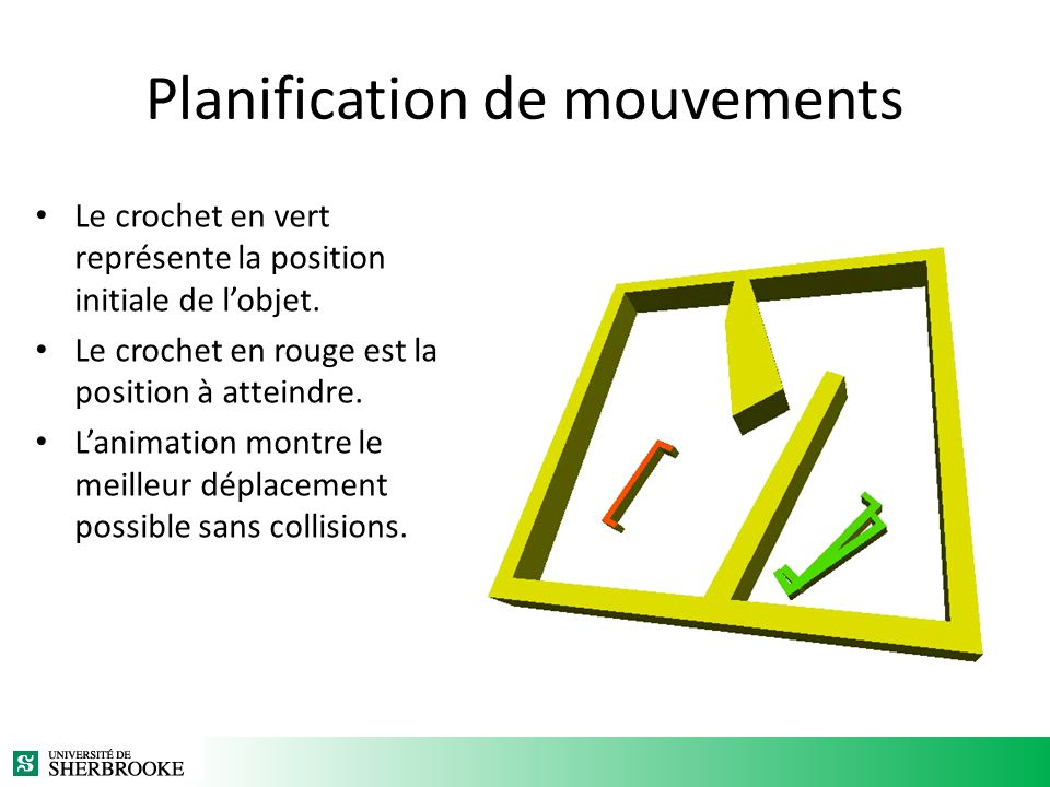 Planification de mouvements