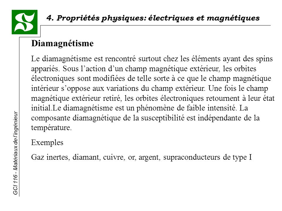 Diamagnétisme