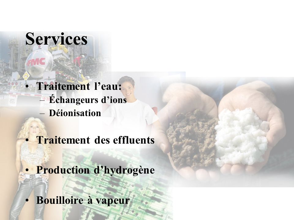 Services Traitement l'eau: Traitement des effluents