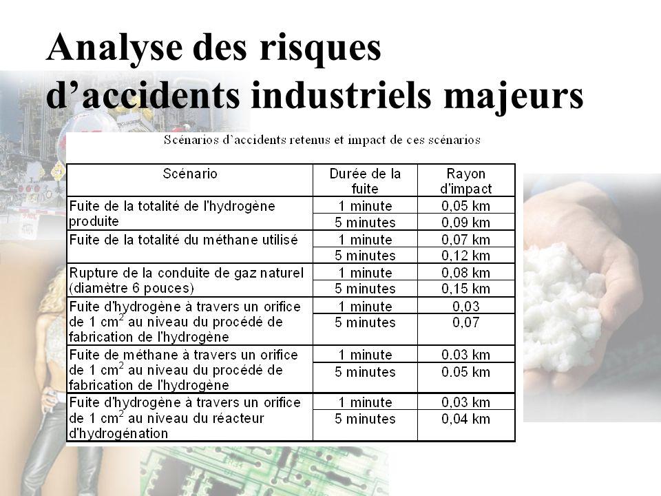 Analyse des risques d'accidents industriels majeurs