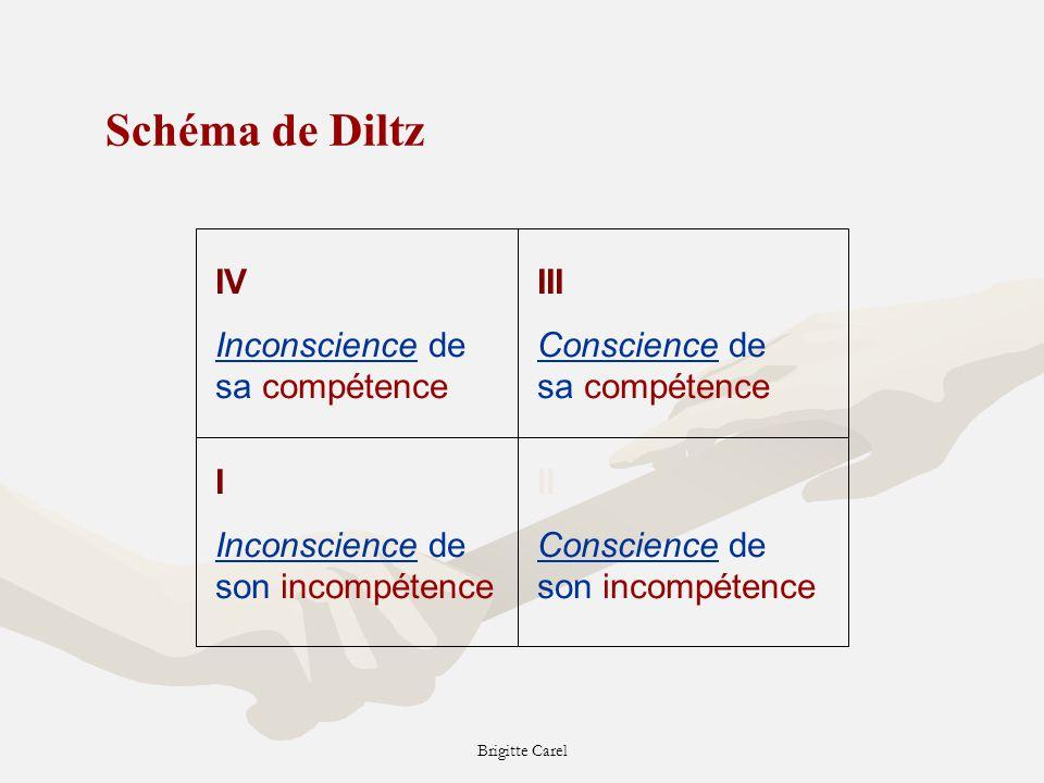 Schéma de Diltz IV Inconscience de sa compétence III