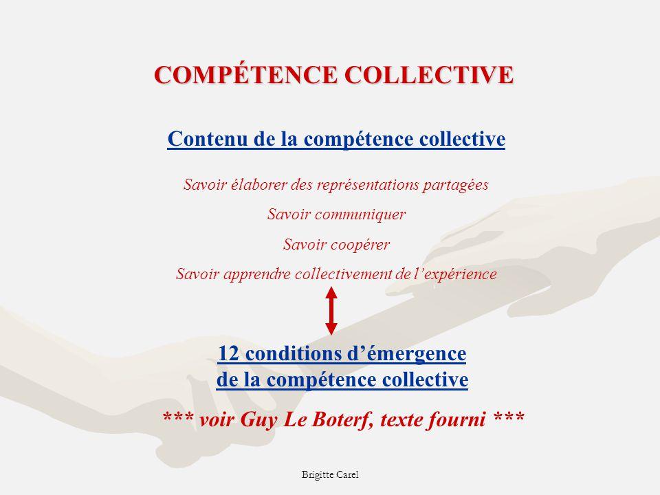 COMPÉTENCE COLLECTIVE