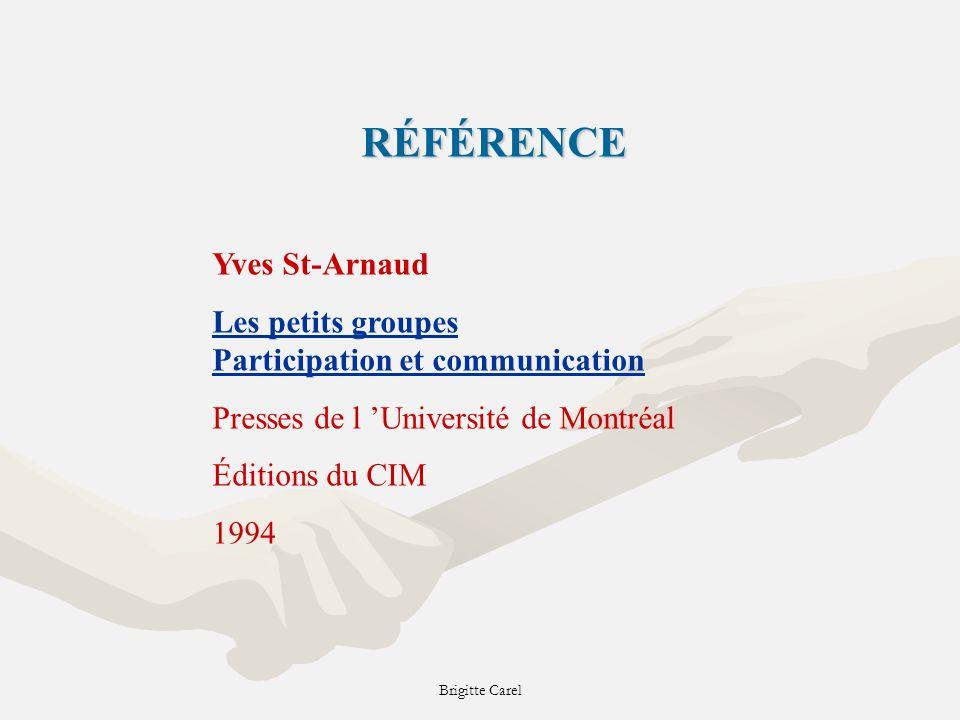 RÉFÉRENCE Yves St-Arnaud