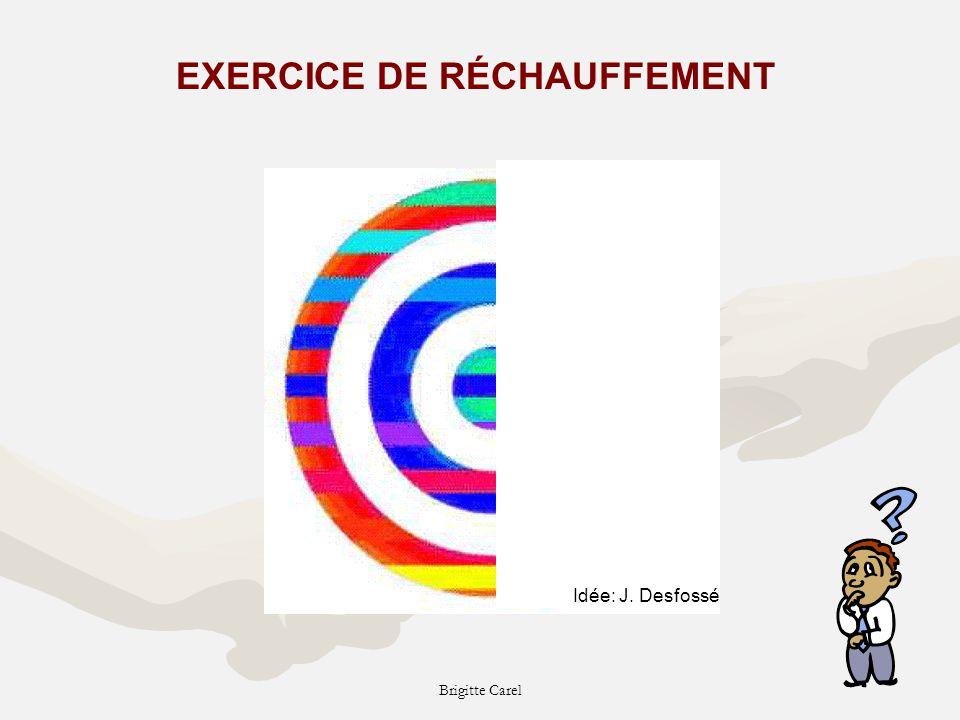 EXERCICE DE RÉCHAUFFEMENT