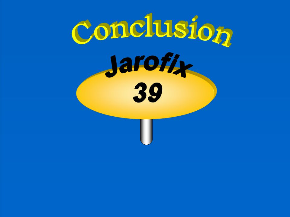 Conclusion Jarofix 39