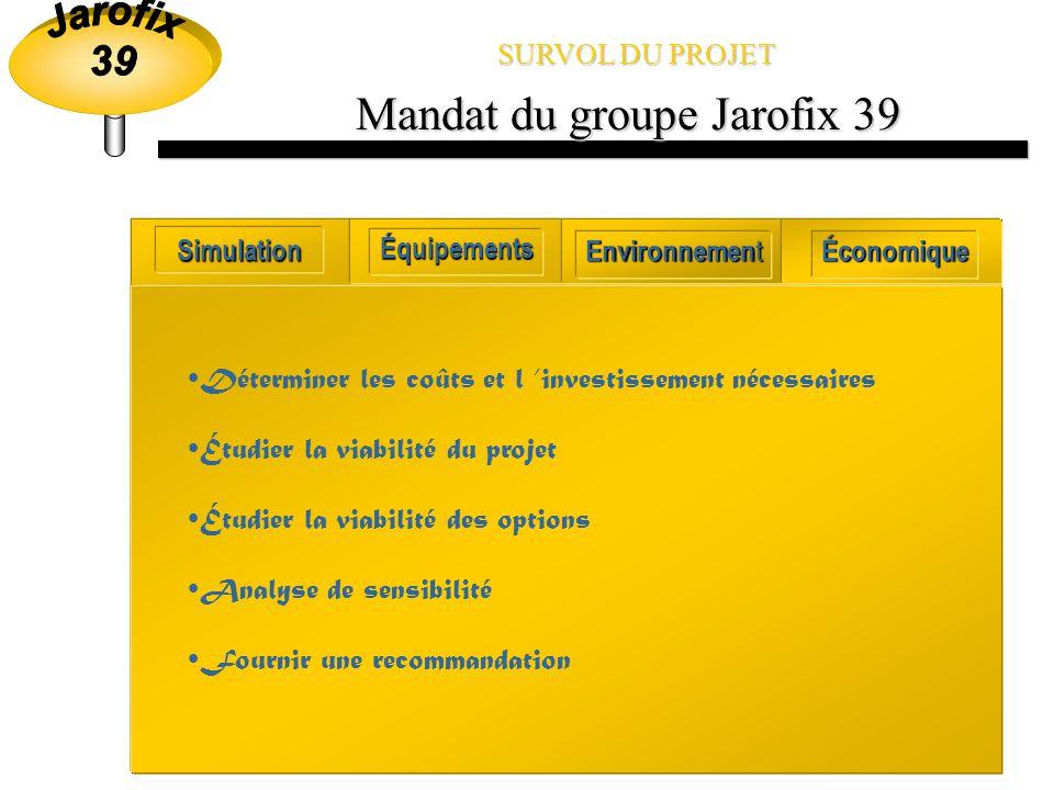 Mandat du groupe Jarofix 39
