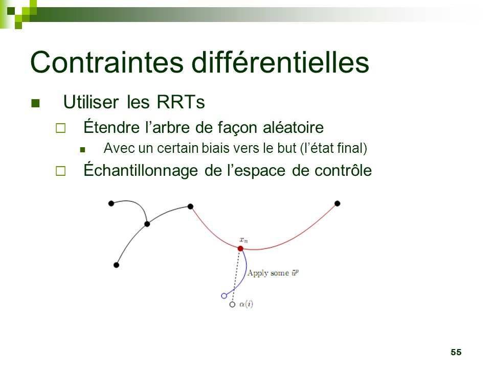 Contraintes différentielles