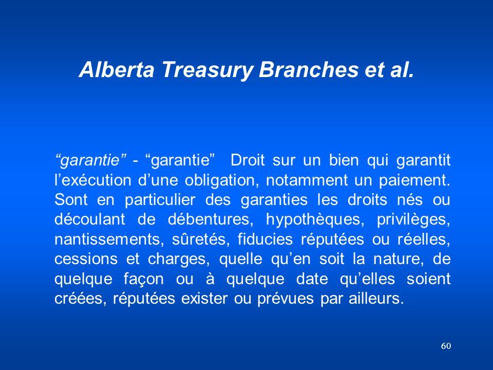 Alberta Treasury Branches et al.