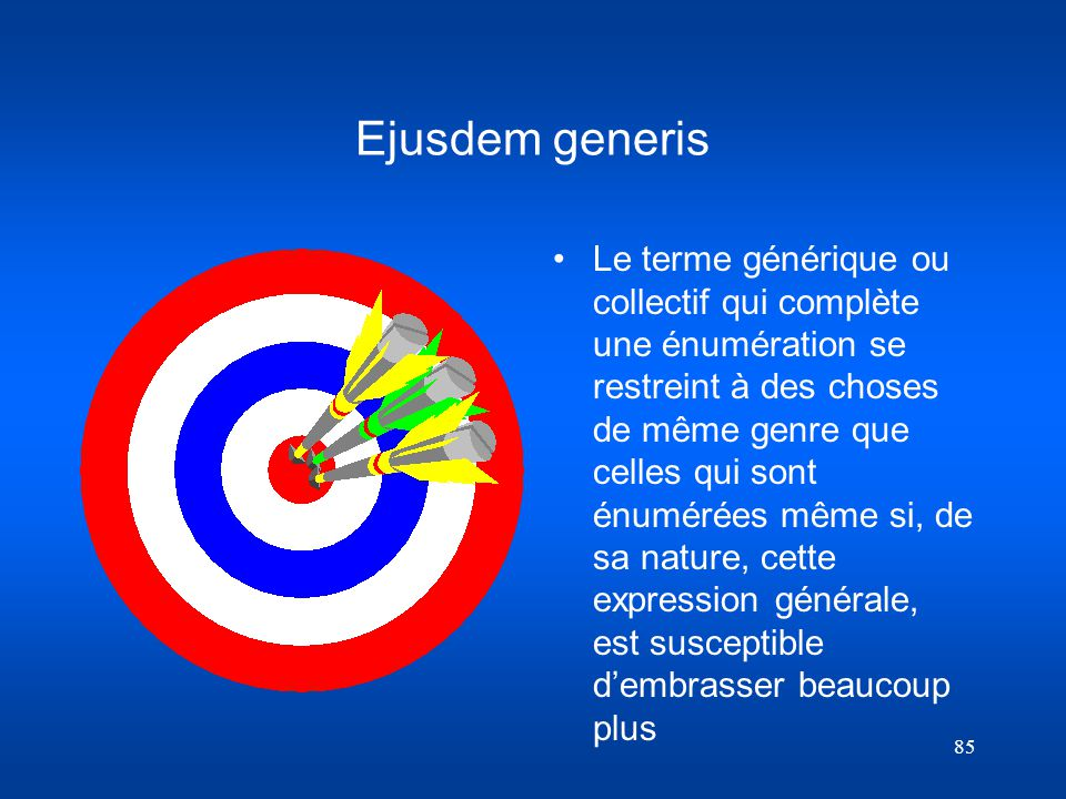 Ejusdem generis