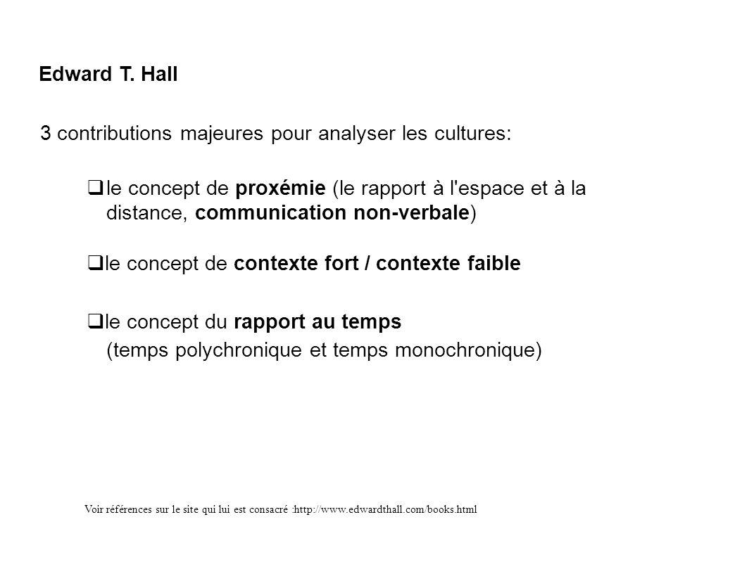 3 contributions majeures pour analyser les cultures: