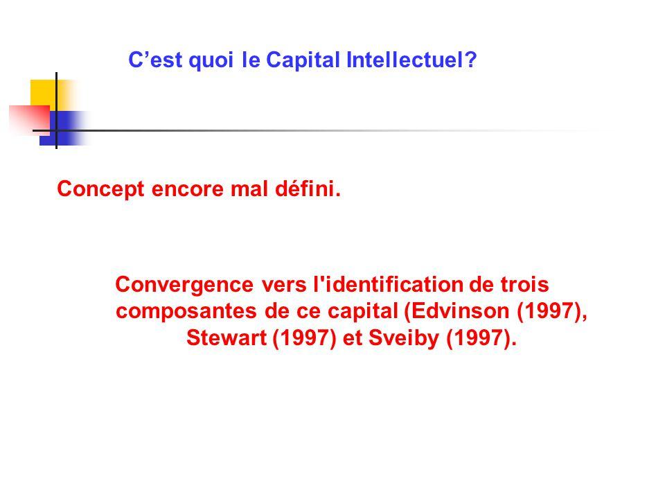 C'est quoi le Capital Intellectuel