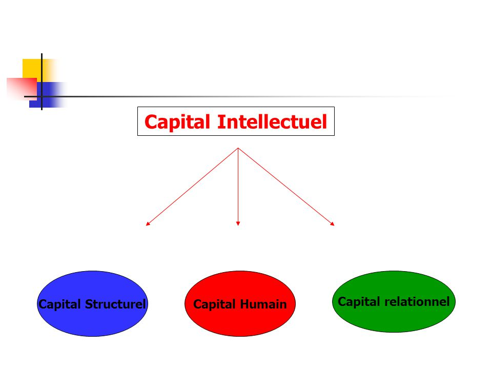 Capital Intellectuel Capital Structurel Capital Humain